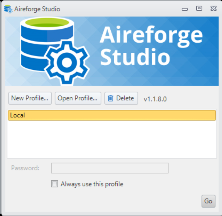 Aireforge SQL Server Tools Version 1.19